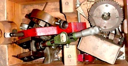 amc c4 tooling, boring mill, allstates automotive equipment