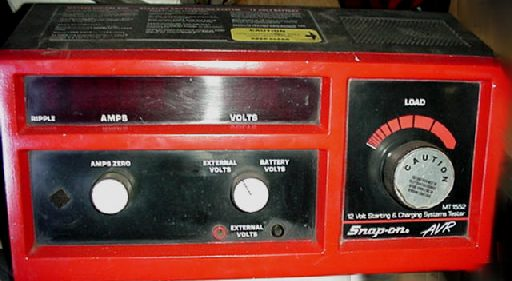 Battery Alternator Starter Electrical Tester Used New
