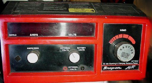Battery Alternator Starter Electrical Tester Used New