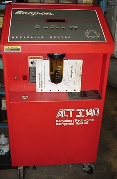 Air Condition Freon Recycle Freon Recovery Vacuum Pump