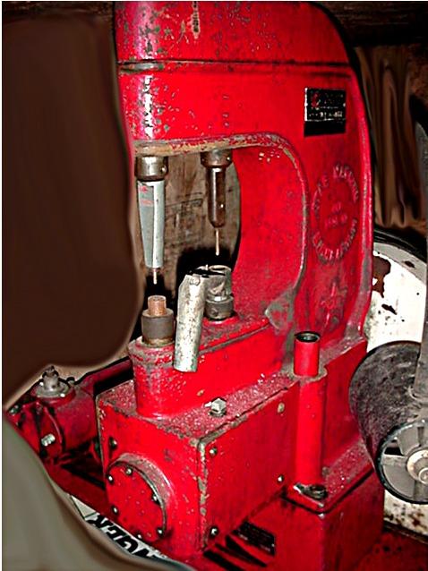 Brake Shoe Riveting Tool : Brake shoe grinder rivet clutch