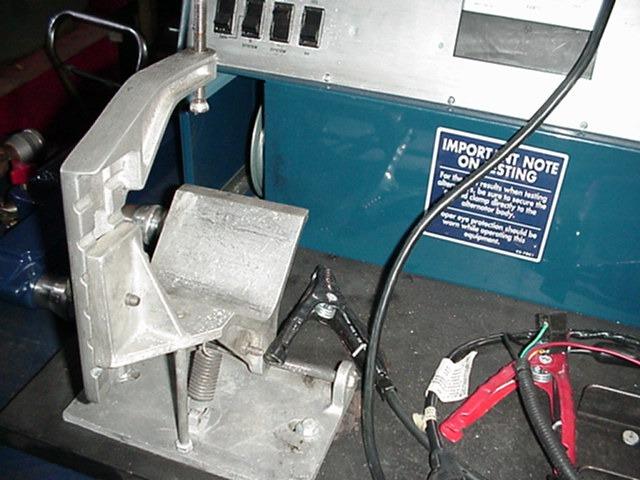 [ZTBE_9966]  ALTERNATOR STARTER BENCH TESTER   Delcotron Alternator Wiring Diagram      automotive equipment, used, new, machine shop, engine rebuilding
