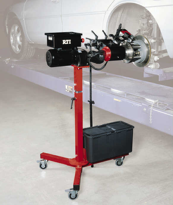 Car Brake Repair Service: Brake Lathe, Used, Reconditioned, Automotive Service, Tools