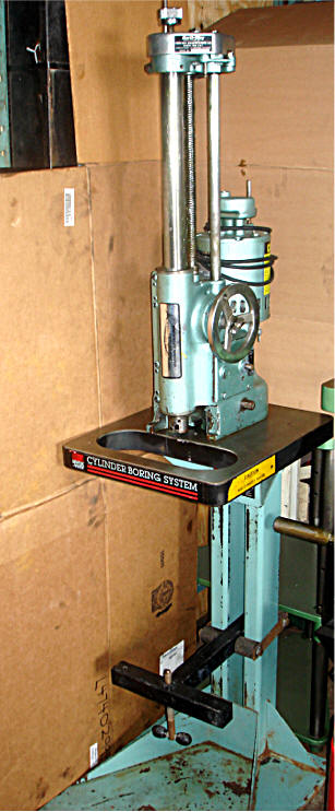 Kwik way boring bars and stands for Outboard motor cylinder boring