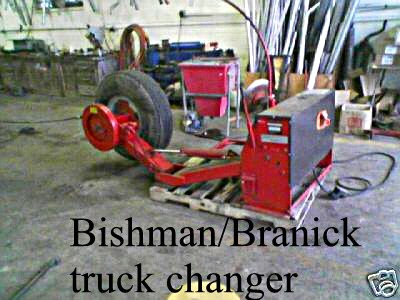 TRUCK TIRE CHANGERS USED